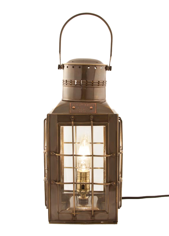 Electric Lantern Antique Patio Lamp